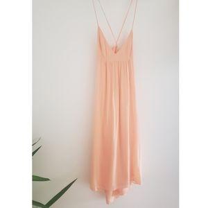 Talula Peach Summer Dress